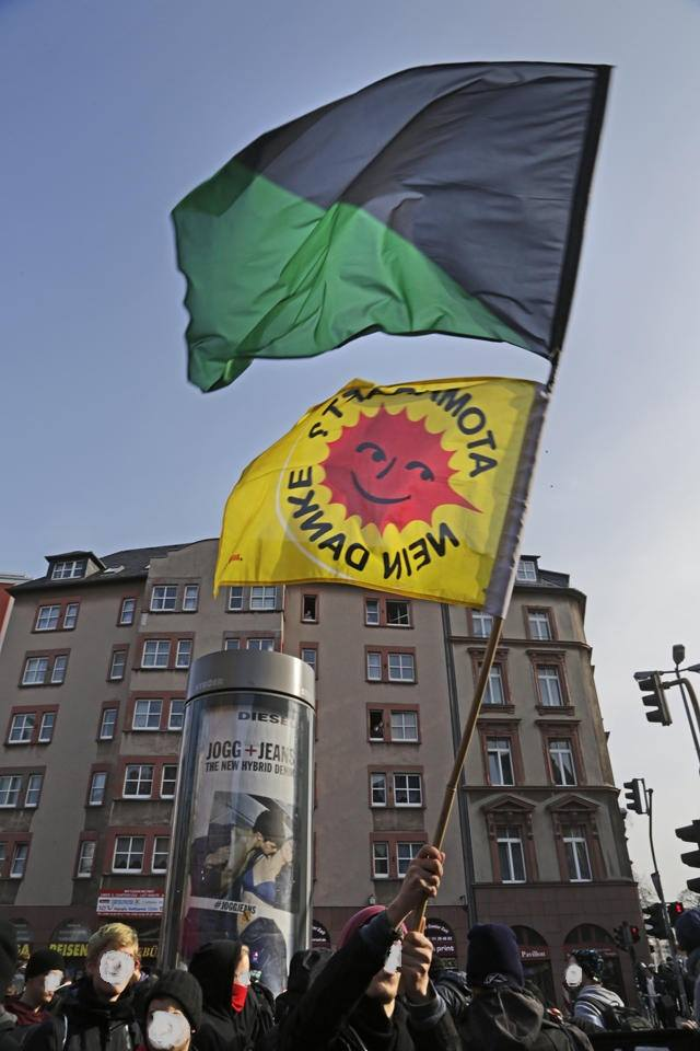 Blockupy. Foto: Leonhard Hamerski