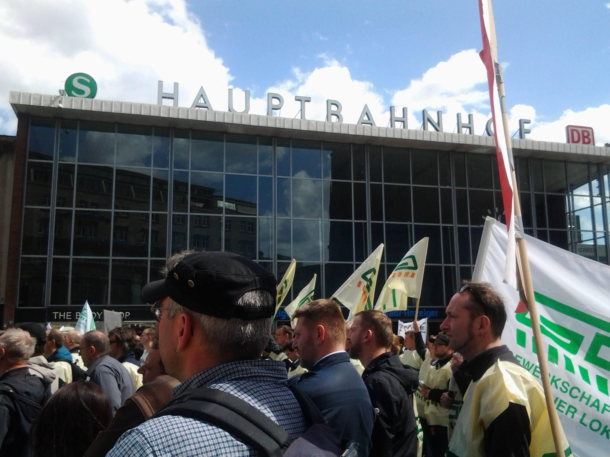 GDL-Streik Köln