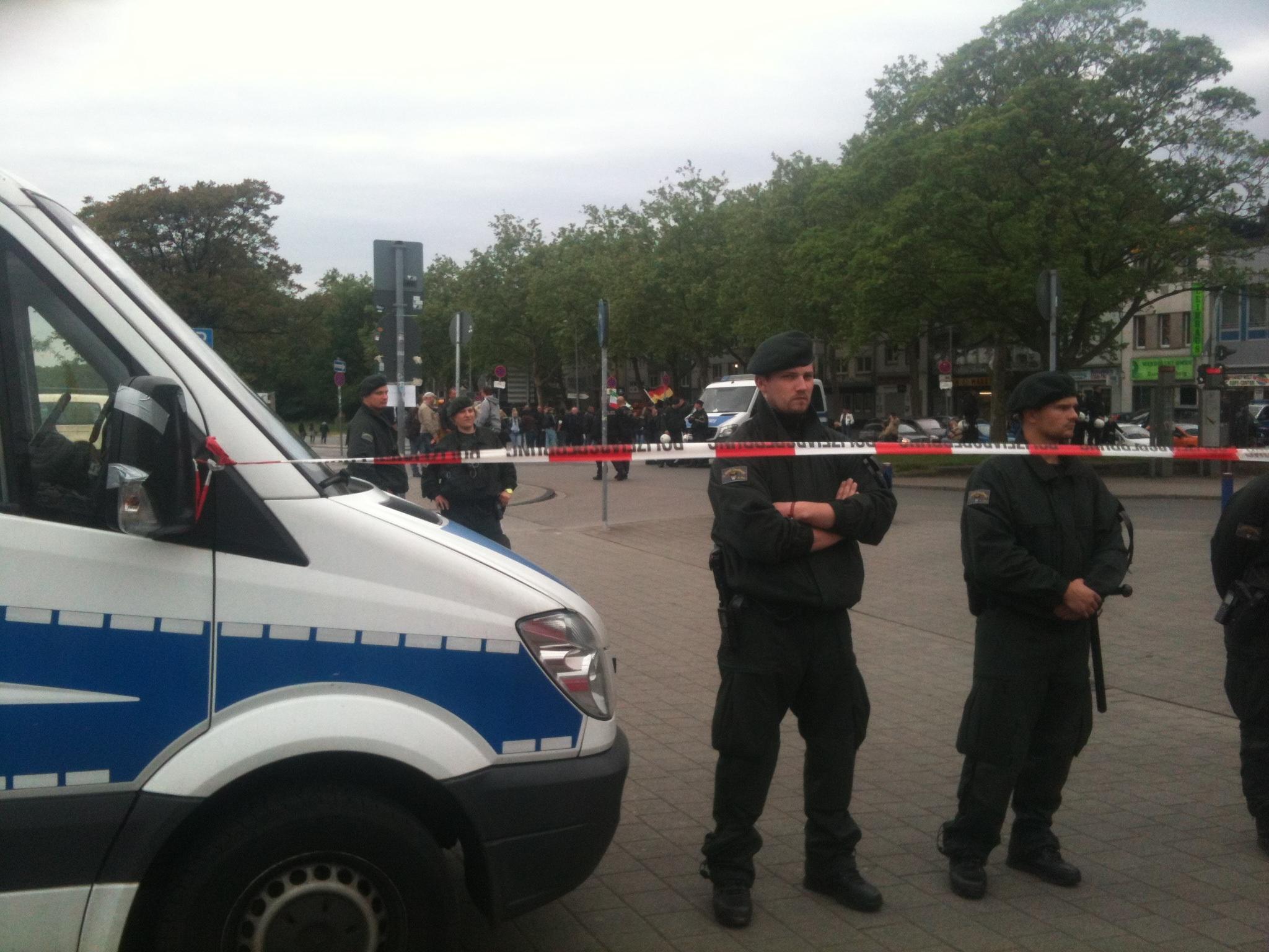 Pegida und Polizei